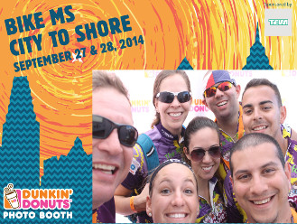 2014 Dunkin Donuts Photo Booth