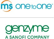 Genzyme/MS One to One logo